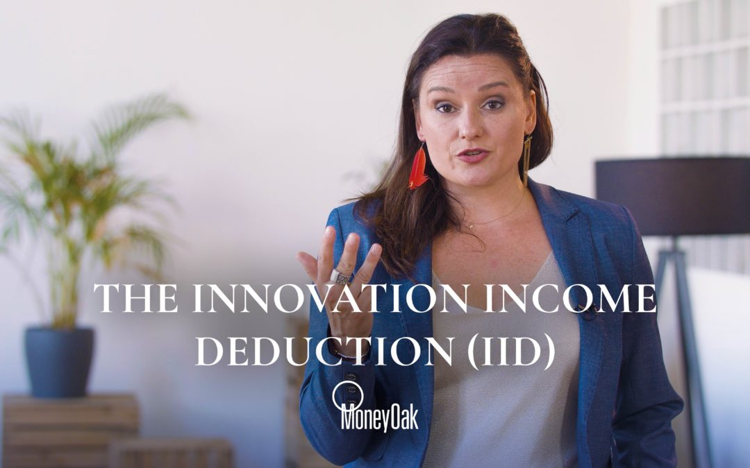 The innovation income deduction (IID)